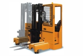 Forklifts for handling long loads